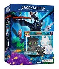 Cover Dvd Dragon Trainer 3. Con Mini Funko (Blu-ray + Blu-ray 3D)
