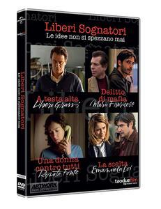 Liberi sognatori. Stagione 1. Serie TV ita (4 DVD) di Graziano Diana,Michele Alhaique,Stefano Mordini,Fabio Mollo - DVD