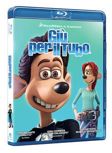 Giù per il tubo (Blu-ray) di David Bowers,Sam Fell - Blu-ray