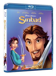 Sinbad. La leggenda dei sette mari (Blu-ray) di Patrick Gilmore,Tim Johnson - Blu-ray
