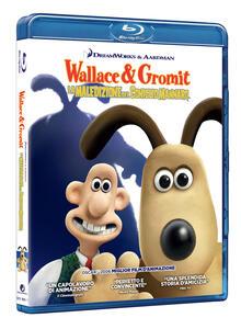Wallace & Gromit. La maledizione del coniglio mannaro (Blu-ray) di Steve Box,Nick Park - Blu-ray