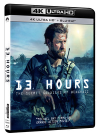 Cover Dvd 13 Hours. The Secret Soldiers of Benghazi (Blu-ray + Blu-ray 4K Ultra HD)