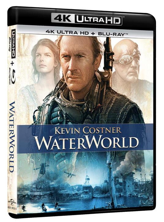 Waterworld (Blu-ray + Blu-ray 4K Ultra HD) di Kevin Reynolds - Blu-ray + Blu-ray Ultra HD 4K