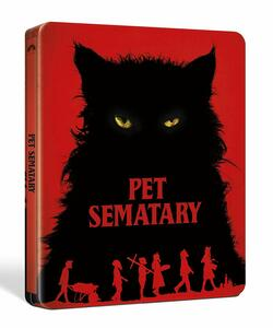 Pet Semetary 2019. Con Steelbook (Blu-ray + Blu-ray 4K Ultra HD) di Kevin Kölsch,Dennis Widmyer - Blu-ray + Blu-ray Ultra HD 4K