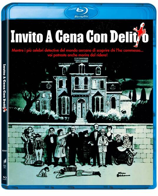 Invito a cena con delitto (Blu-ray) di Robert Moore - Blu-ray