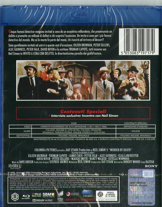 Invito a cena con delitto (Blu-ray) di Robert Moore - Blu-ray - 2