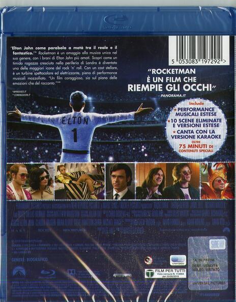 Rocketman (Blu-ray) di Dexter Fletcher - Blu-ray - 2