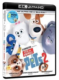 Cover Dvd Pets 2 (Blu-ray + Blu-ray Ultra HD 4K)