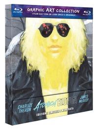 Cover Dvd Atomica bionda. Graphic Art (Blu-ray)