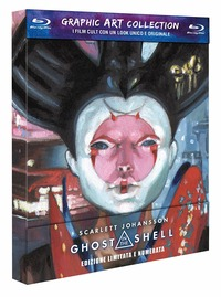 Cover Dvd Ghost in the Shell. Graphic Art (Blu-ray)
