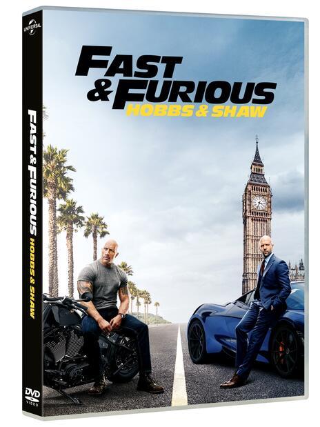 Fast & Furious. Hobbs & Shaw (DVD) di David Leitch - DVD