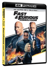 Cover Dvd Fast & Furious. Hobbs & Shaw (Blu-ray + Blu-ray 4K Ultra HD)