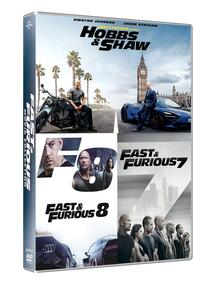 Fast & Furious 3 Movie Box Set (7-9). Hobbs & Shaw Collection (DVD) di David Leitch,James Wan,F. Gary Gray