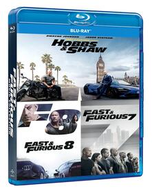 Fast & Furious 3 Movie Box Set (7-9). Hobbs & Shaw Collection (Blu-ray) di David Leitch,James Wan,F. Gary Gray