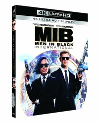 Cover Dvd Men in Black International (Blu-ray + Blu-ray UltraHD 4K)