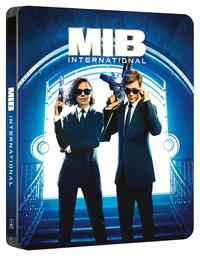 Cover Dvd Men in Black International. Con Steelbook (Blu-ray)