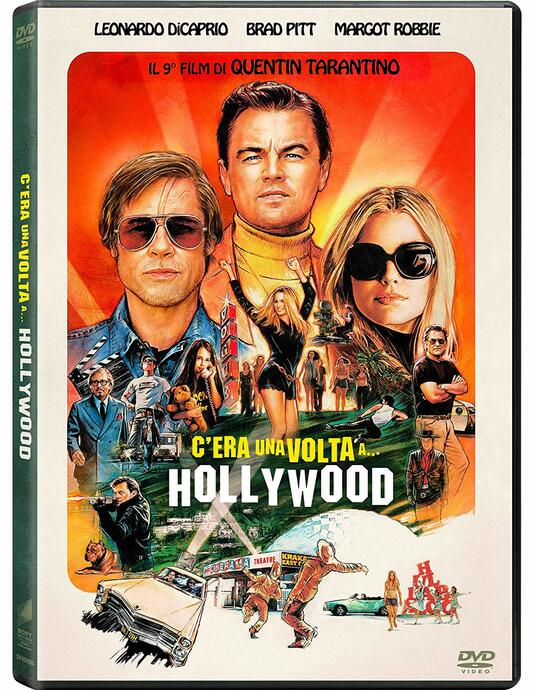 C'era una volta a Hollywood (DVD) di Quentin Tarantino - DVD
