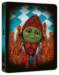 Cover Dvd Men in Black International. Con Steelbook (Blu-ray + Blu-ray Ultra HD 4K)