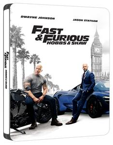 Fast & Furious. Hobbs & Shaw. Con Steelbook (Blu-ray + Blu-ray 4K Ultra HD) di David Leitch - Blu-ray + Blu-ray Ultra HD 4K