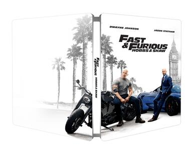 Fast & Furious. Hobbs & Shaw. Con Steelbook (Blu-ray + Blu-ray 4K Ultra HD) di David Leitch - Blu-ray + Blu-ray Ultra HD 4K - 2
