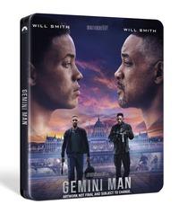 Cover Dvd Gemini Man. Con Steelbook (Blu-ray)