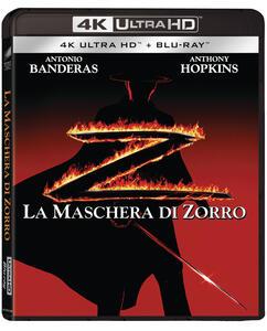 Film La maschera di Zorro (Blu-ray + Blu-ray UltraHD 4K) Martin Campbell