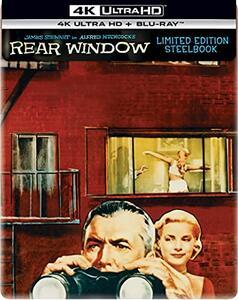 Film La finestra sul cortile. Steelbook (Blu-ray + Blu-ray Ultra HD 4K) Alfred Hitchcock