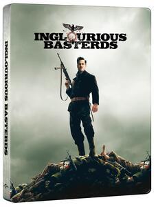 Film Bastardi senza gloria. Steelbook (Blu-ray + Blu-ray Ultra HD 4K) Quentin Tarantino