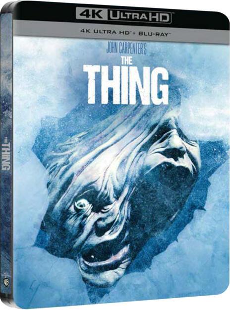 La Cosa. Steelbook (Blu-ray + Blu-ray Ultra HD 4K) di John Carpenter - Blu-ray + Blu-ray Ultra HD 4K