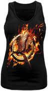Idee regalo Top donna The Hunger Games. La ragazza di fuoco. Catching Fire CID