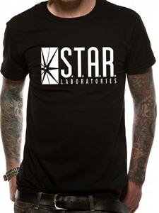 T-Shirt Unisex The Flash. S.t.a.r. Labs