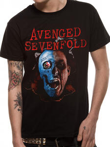 T-Shirt Unisex Avenged Sevenfold. Robot Head