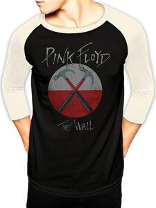 T-Shirt Unisex Tg. S Pink Floyd. Wall Logo Baseball