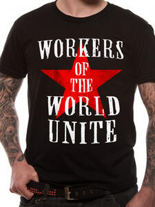 T-Shirt Unisex Tg. 2Xl Cid Originals. Workers Of The World