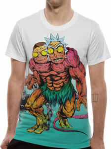 T-Shirt Unisex Tg. S Rick And Morty. Monster