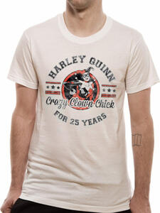 T-Shirt Unisex Tg. M Dc Originals. Crazy Clown Chick