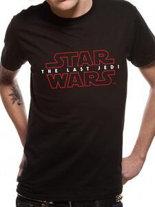 T-Shirt Unisex Tg. XL Star Wars Viii The Last Jedi. Logo