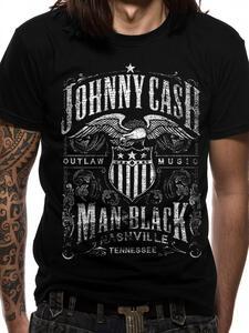 T-Shirt Unisex Tg. 2Xl Johnny Cash. Label