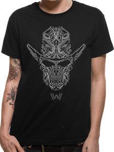 T-Shirt Unisex Tg. L Westworld. Circuit Face
