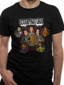T-Shirt Unisex Tg. L Scooby Doo. Scoobynatural