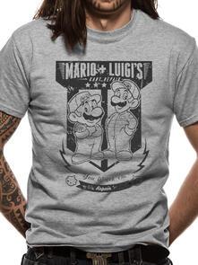 T-Shirt Unisex Tg. 2XL. Nintendo: Mario Kart Fix: It Team