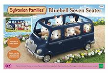 Sylvanian Families. Bluebell Seven Seater
