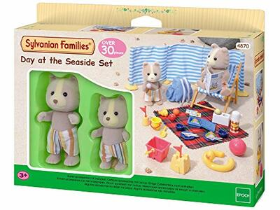 Sylvanian Families. Day At The Seaside - 3