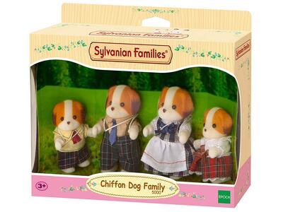Sylvanian Families. Chiffon Dog Family - 5