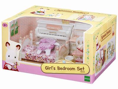 Sylvanian Families. Girls Bedroom Set