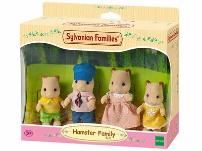 Sylvanian Families. Hamster Family - 6