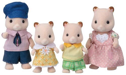 Sylvanian Families. Hamster Family - 7
