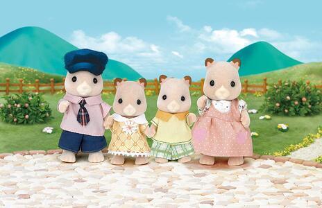 Sylvanian Families. Hamster Family - 8