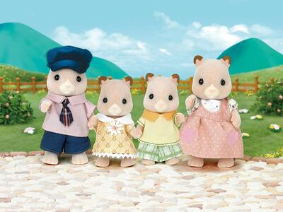 Sylvanian Families. Hamster Family - 9