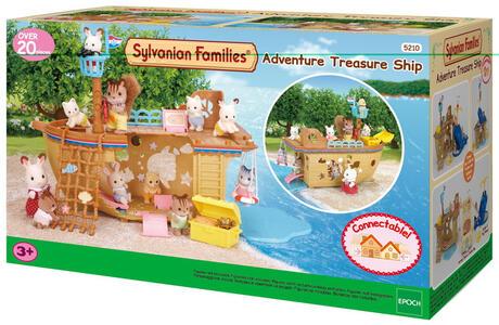 Sylvanian Families Nave Avventura Con Accessori Cod 5210 - 9